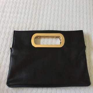Bardot Black Bag Or Clutch