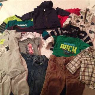 Lot Of Boys 3-6 And 6-9 Month Clothinf