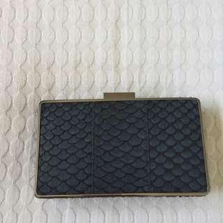 Saba Navy Clutch/purse