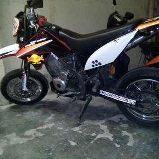 Kawasaki Dtracker 150cc 2012