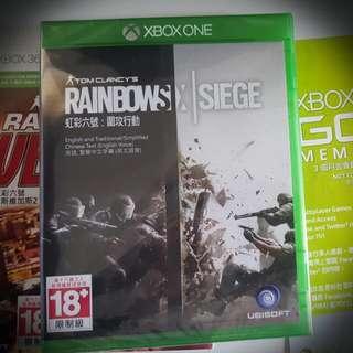 Xbox One Rainbow 6 遊戲 X 3 + 3 個月Xbox Live 金會員