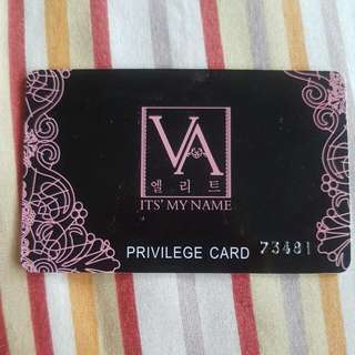 VA Membership card