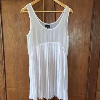 May White Dress