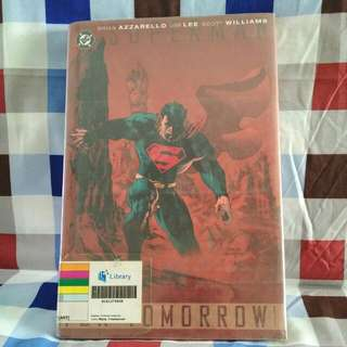 Superman For Tomorrow Volume 1 By Brian Azzarello Jim Lee Scott Williams