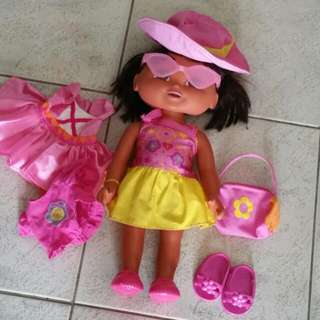Dora Doll And Accessories