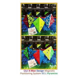 - Qiyi X-Man Design Magnetic Positioning System Bell Pyraminx for sale ! Brand New Cube !