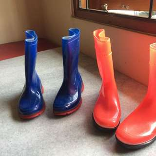 AP Boots Biru