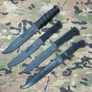 Various ColdSteel RUBBER Knife For Training Or Cosplay/Props