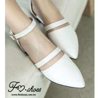 包鞋.芭蕾唯美氣質尖頭瑪莉珍鞋-FM時尚美鞋-訂製款