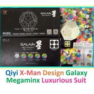 >>  Luxurious Set Qiyi X-Man Design Galaxy Megaminx