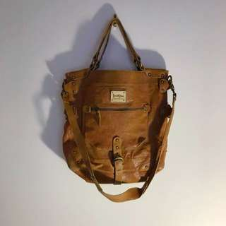 Ipanima Leather Shoulder Bag
