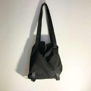 White Label Black Bucket Bag
