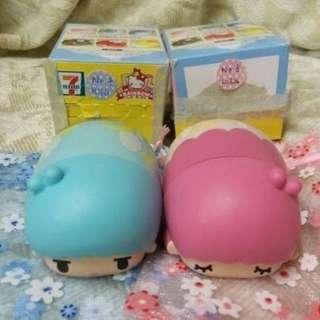 7-11 Twins Star顏色筆 (一對)