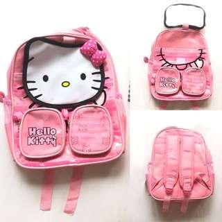Tas Ransel Sekolah Hello Kitty untuk anak PAUD