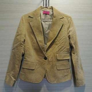 [二手]OZOC駝色西裝外套