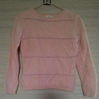 [二手]JO-AN粉色毛衣