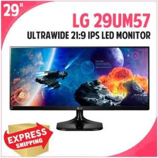 """LG Ultrawide 29"""" 29UM57 21:9 LED 2560x1080"""