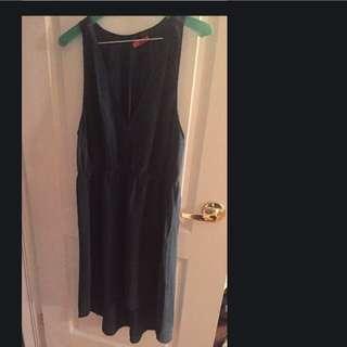 T.B 100% Silk Dress