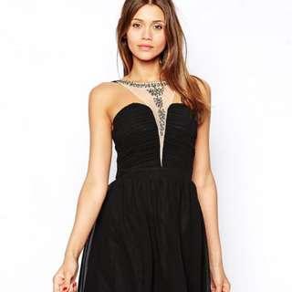 Asos Little Mistress Stud Dress