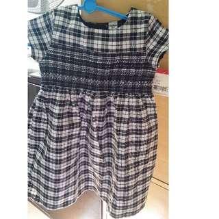 BNWT Osh Kosh Black and white dress for 4T