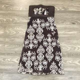 Body And Soul - Brown Ethnic Dress