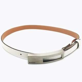 ac8cde6e09e Custom Made Lizard Skin Belt Strap + Authentic Gucci Belt Set
