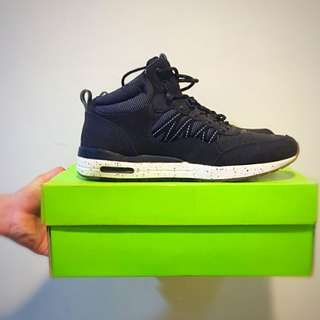 HUF 潮牌 休閒鞋 美版 黑鞋 滑板鞋