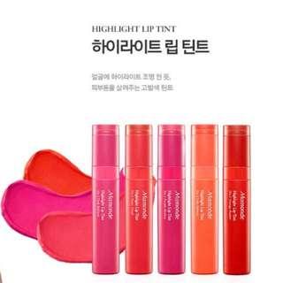 現貨 Mamonde夢妝Mamonde Highlight Lip Tint唇釉染唇液唇蜜朴信惠代言Doctors