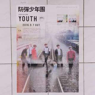 BTS Youth 1st Press Poster