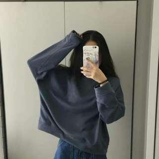 🚚 超美灰藍色上衣✨