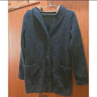 (新)長版溫暖針織外套❤️