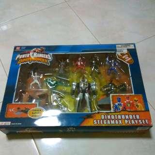 Power Rangers-Dino Thunder Stegamax Set