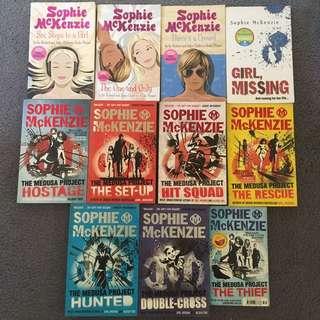 Sophie Mckenzie Book Bundle