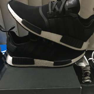 REFLECTIVE BLACK NMD SIZE 13