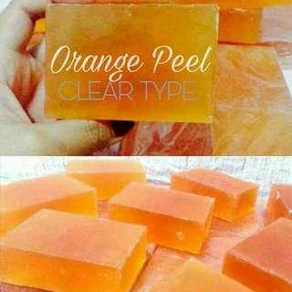 🍊Orange Peel Clear Soap🍊