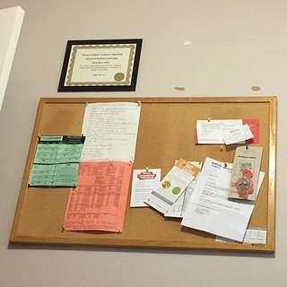 Quartet Notice Board