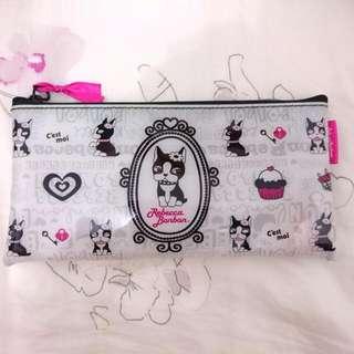 rebecca bonbon 防水化妝包 刷具收納包