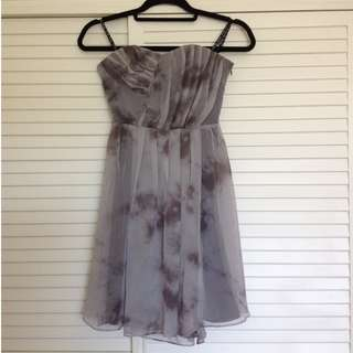 NEW Sweetheart strapless dress size 8 (marble grey)