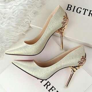 BN Champagne Heels