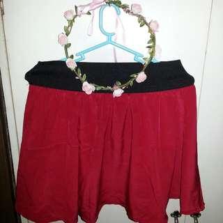 Gartered Skirt