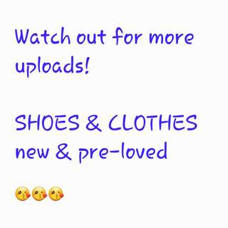 Pre-loved Shoes And Clothes!