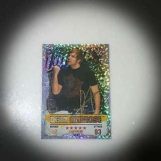 Slam Attax Takeover Dean Ambrose Gold Champion Card