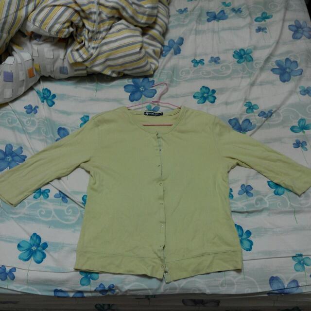 罩衫外套七分袖