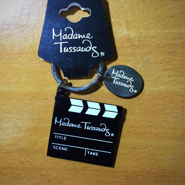 英國杜莎夫人蠟像館鑰匙圈