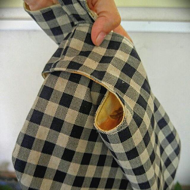 핸드메이드 손목가방