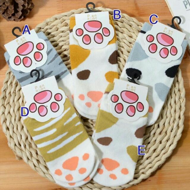 🐾 韓版 貓掌船型短襪
