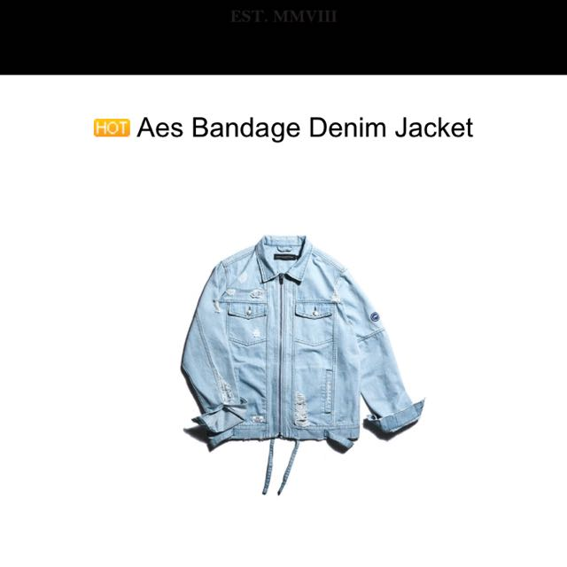 收購 Aes 夾克牛仔外套