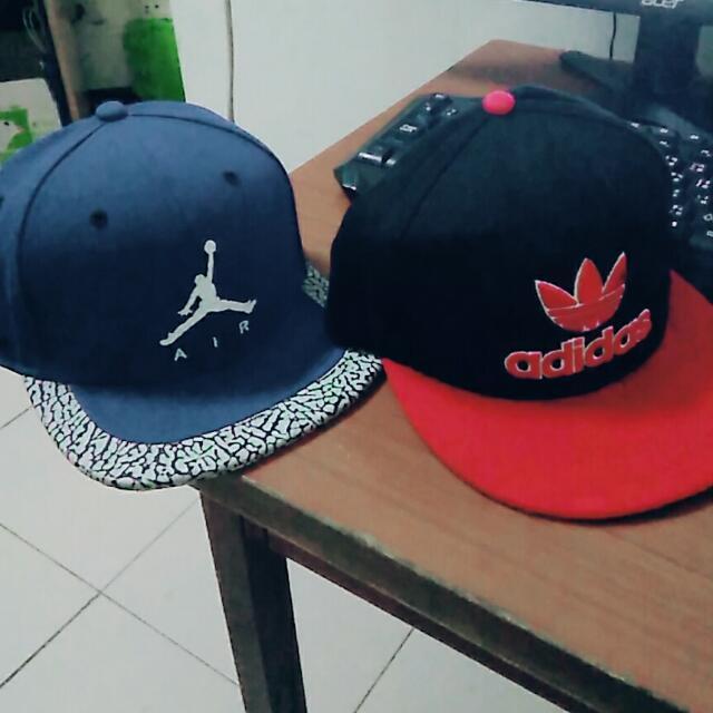 帽子 Jordan Adidas