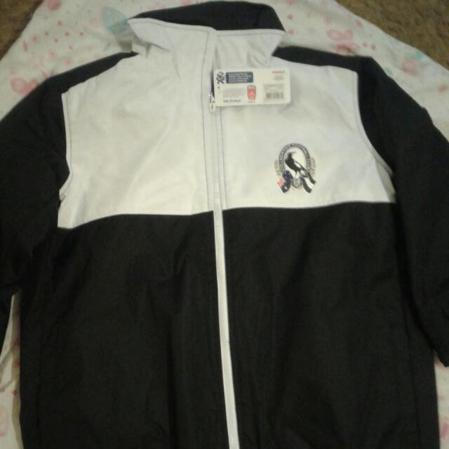 AFL Magpies Winter Supporter Jackets - Sizes Youth 6 & 8