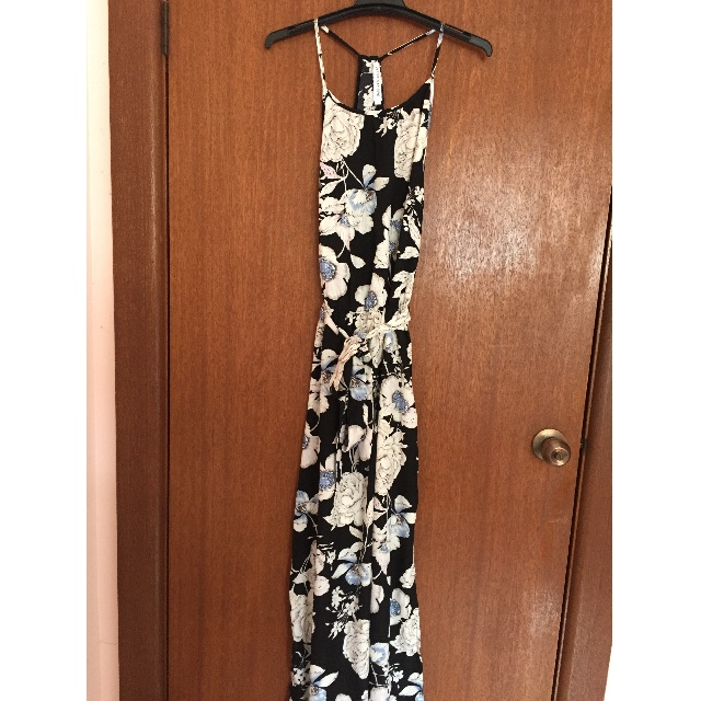 Atmos&Here Womens Floral Maxi Dress Size 10